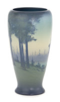 Ceramics & Porcelain, American:Modern  (1900 1949)  , A ROOKWOOD ART POTTERY VASE DECORATED BY COYNE . Decorated by SaraElizabeth (Sallie) Coyne (American, 1876-1939). Rookwood ...