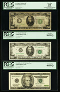 Small Size:Group Lots, A Quintet of Small Size $20 Federal Reserve Notes. PCGS Very Fine 25 or Better.. ... (Total: 5 notes)