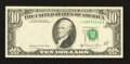 Error Notes:Foldovers, Fr. 2026-A $10 1981A Federal Reserve Note. Very Fine.. ...