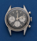 Timepieces:Wristwatch, Heuer Autavia Steel Chronograph For Restoration. ...
