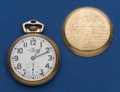 Timepieces:Pocket (post 1900), Ball 21 Jewel Grade 999 B Pocket Watch. ...
