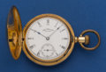 Timepieces:Pocket (post 1900), Waltham Model 70 Royal 15 Jewel 16 Size 18k Gold Hunter's CasePocket Watch. ...