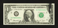 Error Notes:Ink Smears, Fr. 1908-K $1 1974 Federal Reserve Note. Choice AboutUncirculated.. ...
