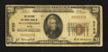 National Bank Notes:Texas, Weatherford, TX - $20 1929 Ty. 1 The Citizens NB Ch. # 2723. ...