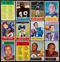 Football Cards:Sets, 1964-1966 Philadelphia Football Collection (351 cards). ...