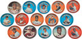 Baseball Cards:Lots, 1964 Topps Coins Collection With Many Stars and 2 Mantle (260+ coins). ...