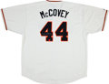 Baseball Collectibles:Uniforms, Willie McCovey Signed Jersey....
