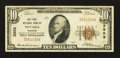 National Bank Notes:Missouri, Nevada, MO - $10 1929 Ty. 1 The First NB Ch. # 3959. ...