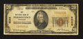 National Bank Notes:Tennessee, Morristown, TN - $20 1929 Ty. 1 City NB Ch. # 8025. ...