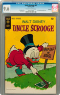 Bronze Age (1970-1979):Cartoon Character, Uncle Scrooge #87 Savannah pedigree (Gold Key, 1970) CGC NM+ 9.6Off-white to white pages....