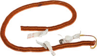 Apollo 16 Lunar Module Flown Utility Light Cord Directly from the Personal Collection of John Young, with Signed LOA