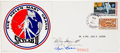 Transportation:Space Exploration, Skylab II (SL-3) Signed Limited Edition Wives Patch DecalCommemorative Cover, #12 of 17, Directly from the PersonalCollectio...