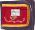 Transportation:Space Exploration, Space Shuttle Columbia (STS-3) Flown United States Marine Corps Flag Directly from the Personal Collection of Miss...