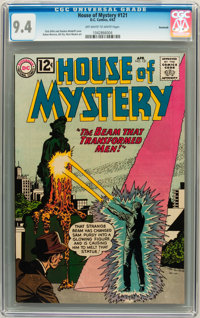 House of Mystery #121 Savannah pedigree (DC, 1962) CGC NM 9.4 Off-white to white pages