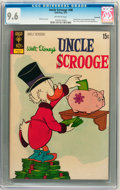 Bronze Age (1970-1979):Cartoon Character, Uncle Scrooge #98 Savannah pedigree (Gold Key, 1972) CGC NM+ 9.6Off-white pages....