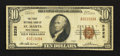 National Bank Notes:West Virginia, Saint Marys, WV - $10 1929 Ty. 1 The First NB Ch. # 5226. ...