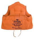 Decorative Arts, British:Other , S.S. ANDREA DORIA FINAL VOYAGE SURVIVOR LIFE JACKET . 44 incheswide (111.8 cm). ...
