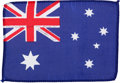 Transportation:Space Exploration, Apollo 15 Flown National Flag of Australia Directly from the Personal Collection of Mission Command Module Pilot Al Worden, Si...