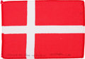 Transportation:Space Exploration, Apollo 15 Flown National Flag of Denmark Directly from the PersonalCollection of Mission Command Module Pilot Al Worden, Sign...