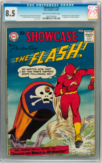 Showcase #13 The Flash (DC, 1958) CGC VF+ 8.5 Cream to off-white pages