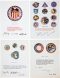 Transportation:Space Exploration, Apollo and Skylab: NASA Internal Certificates of Appreciation,Mission Stickers, and Miscellaneous Ephemera. ... (Total: 25 Items)