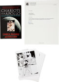 Autographs:Celebrities, Charles Pellegrino's Chariots for Apollo: The Untold StoryBehind the Race to the Moon Signed Book with Original P...(Total: 2 Items Items)