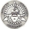 Transportation:Space Exploration, Space Shuttle Columbia (STS-3) Flown Robbins SilverMedallion Directly from the Personal Collection of Mission Com...