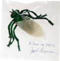 Transportation:Space Exploration, Space Shuttle Columbia (STS-3) Flown Plastic Fly (Insect)Directly from the Personal Collection of Mission Command...