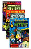 Bronze Age (1970-1979):Cartoon Character, Richie Rich Vault of Mystery File Copies Box Lot (Harvey, 1974-82)Condition: Average VF/NM....
