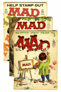 Magazines:Mad, Mad #76-133 and 135 Group (EC, 1963-70) Condition: Average GD+....(Total: 59 Comic Books)