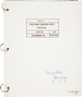 Transportation:Space Exploration, Apollo 11 Training-Used CSM Lunar Landmark Maps (Training)Book Directly from the Personal Collection of Astronaut...