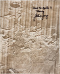 "Transportation:Space Exploration, Apollo 11 Training-Used ""Ascent Monitoring Chart"" Directly from thePersonal Collection of Astronaut John Young, Signed and Ce..."
