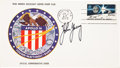 Transportation:Space Exploration, Apollo 16 Official Launch Cover Directly from the PersonalCollection of Mission Commander John Young, Signed (Twice) andCert...