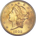 Liberty Double Eagles, 1902-S $20 MS64+ PCGS. CAC....