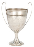 Silver Holloware, British:Holloware, MALCOLM S. FORBES COLLECTION: GEORGE III SILVER AGRICULTURAL TROPHYPRESENTED IN 1798 . Samuel Godbehere and Edward Wigan...