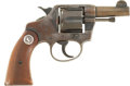 Military & Patriotic:WWI, Colt .38 Double Action Revolver. Cal. .38. Serial Number 67516....