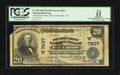 National Bank Notes:Colorado, Fort Collins, CO - $20 1902 Plain Back Fr. 650 The Poudre Valley NBCh. # (W)7837. ...