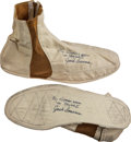 Transportation:Space Exploration, Skylab II (SL-3) Flown and Worn Pair of Inflight Slippers Directlyfrom the Personal Collection of Mission Pilot Jack Lousma, ...(Total: 2 Items)