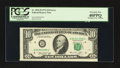 Error Notes:Miscellaneous Errors, Fr. 2022-D $10 1974 Federal Reserve Note. PCGS Extremely Fine 40PPQ.. ...