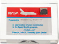 Transportation:Space Exploration, Space Shuttle Columbia (STS-1) Flown Tile Section LimitedEdition Presentation....