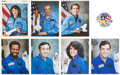Autographs:Celebrities, Space Shuttle Challenger (STS-51-L): Set of Individual Signed Crew Photos with Patch and Orbit Map....