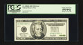 Error Notes:Obstruction Errors, Fr. 2088-K $20 2001 Federal Reserve Note. PCGS Choice About New 55PPQ.. ...