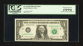 Error Notes:Miscellaneous Errors, Fr. 1912-H $1 1981A Federal Reserve Note. PCGS Superb Gem New 67PPQ.. ...