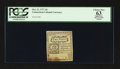 Colonial Notes:Connecticut, Connecticut October 11, 1777 2d Slash Cancel PCGS Apparent ChoiceNew 63.. ...