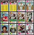 Football Cards:Lots, 1973 Topps Football High Grade Collection (1,100+ cards). ...