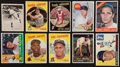 Baseball Cards:Lots, 1939 - 1971 Baseball Mainly Star Collection (37) Including Mantle....