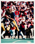 "Football Collectibles:Photos, Dan Marino Signed ""Upper Deck Authenticated"" Photograph...."