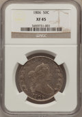 Early Half Dollars, 1806 50C Pointed 6, No Stem XF45 NGC. O-109, R.1....