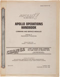 Transportation:Space Exploration, Apollo 7 NASA Apollo Operations Handbook - Command and ServiceModules, Volume 2 Book....