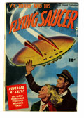 Golden Age (1938-1955):Science Fiction, Vic Torry & His Flying Saucer #nn (Fawcett, 1950) Condition:VG/FN....